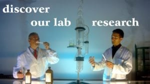 Un laboratorio di ricerca sulla attività degli oli essenziali