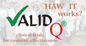 Le prove cliniche a supporto della cosmetica si chiamano Valid Q